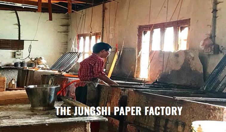 Jungshi Handmade Paper Factory Thimphu